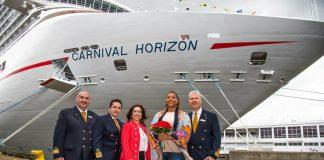 Carnival Horizon Naming Ceremony