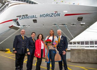 Carnival Horizon Naming Ceremony