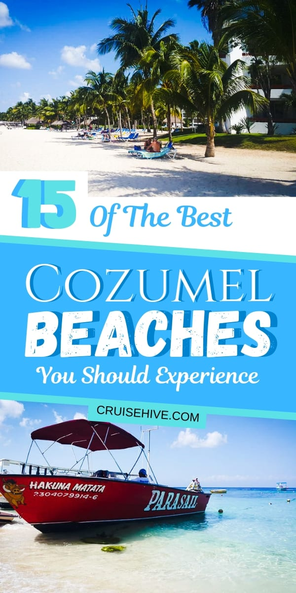 If you're on a cruise in the western Caribbean then you might want to know about these best beaches in Cozumel, Mexico. Find out which beach is good for and things to do on each one. Catered for those who are on a cruise vacation.