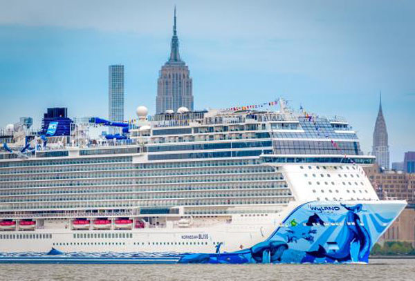 Norwegian Bliss NYC