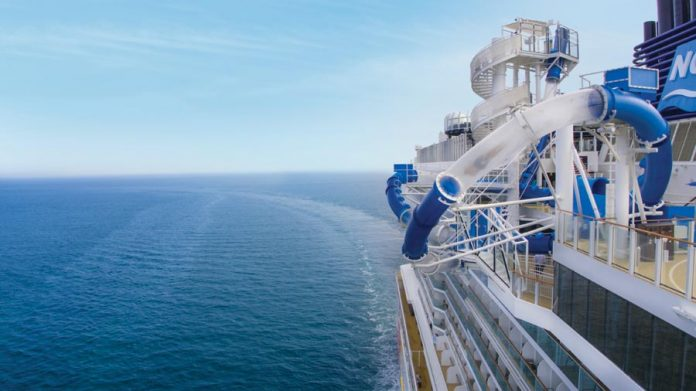 Norwegian Bliss At Sea