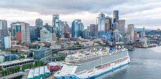 Norwegian Bliss in Seattle