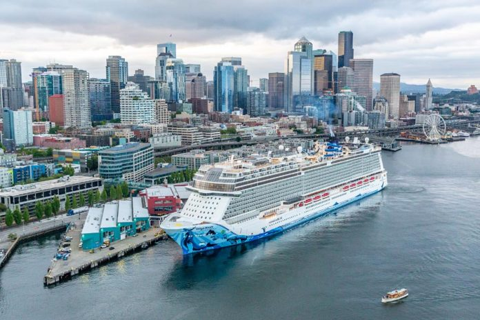 Norwegian Bliss in Seattle