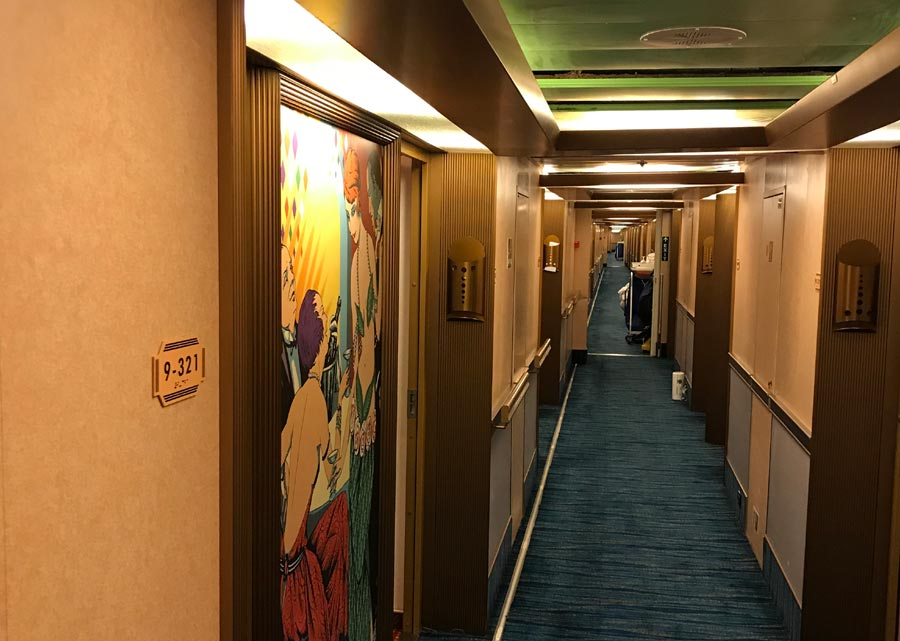 Water line break floods 50 staterooms on Carnival cruise