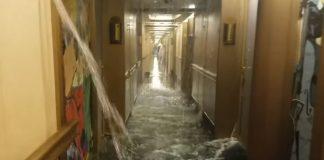 Carnival Dream Cabins Flood