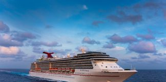 Carnival Legend At Sea