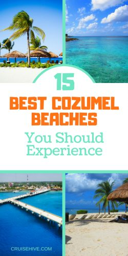When on your cruise vacation in the Caribbean you'll need to know the best Cozumel beaches.
