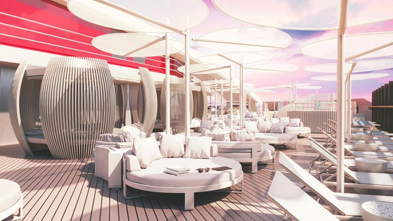 Virgin Voyages Interior Renderings