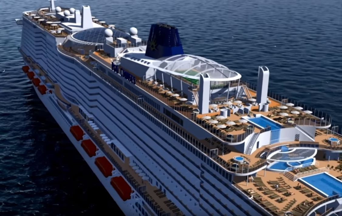 P&O Iona Rendering