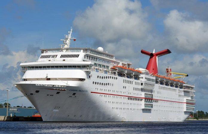 Carnival Cruise Ship at JAXPORT, Florida
