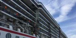 Carnival Legend Dry Dock