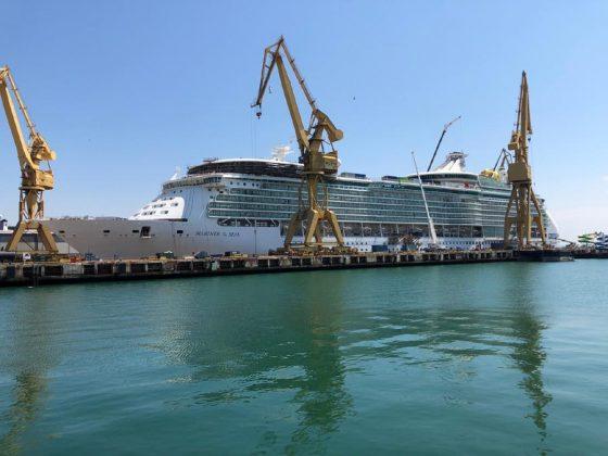 Mariner of the Seas Cadiz Dry Dock