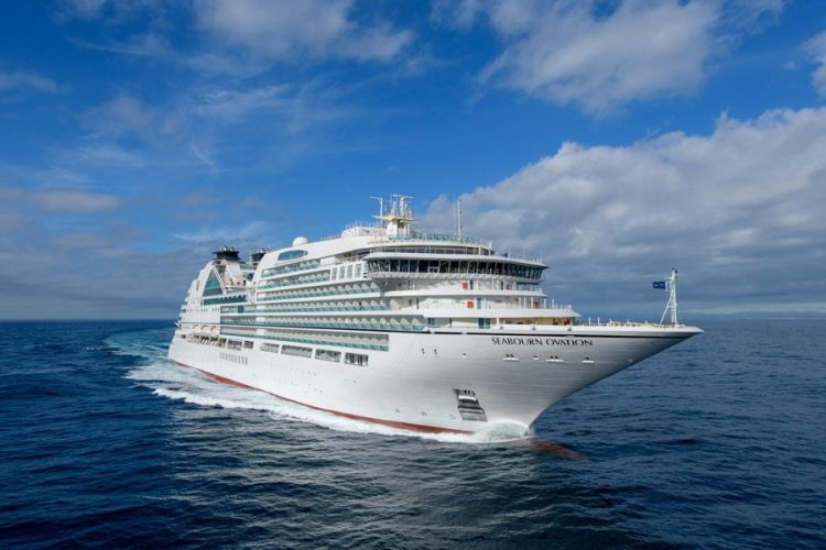 Seabourn Ovation at Sea