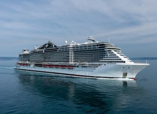 MSC Seaview During Sea Trials
