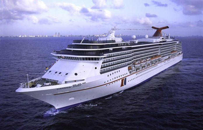 Carnival Spirit At Sea