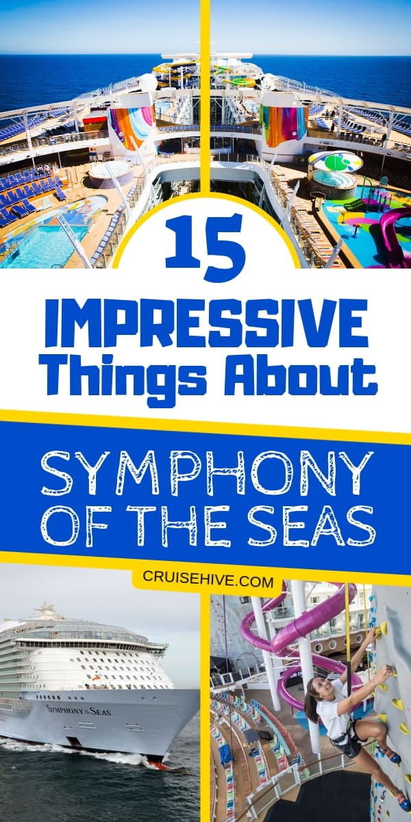 Find out about the current world's largest cruise ship Symphony of the Seas. All the things to do on the huge Royal Caribbean cruise ship.