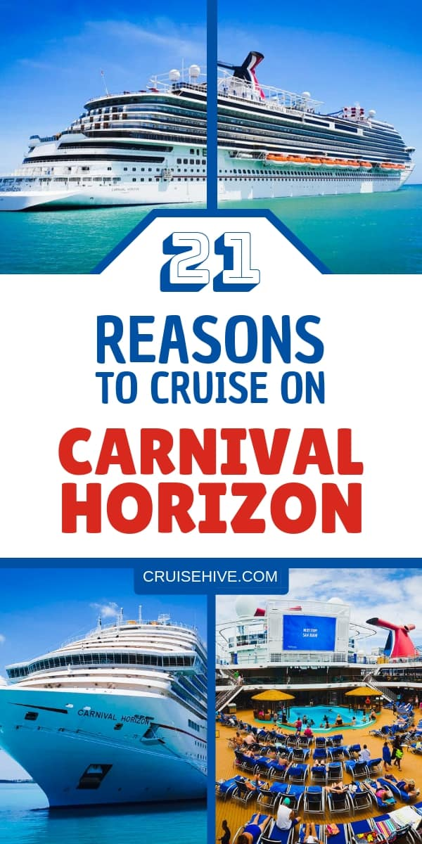 If you're thinking about a Carnival cruise out of Miami, Florida then Carnival Horizon might be worth a try. We've got all the reasons and cruise tips on the large Carnival ship.