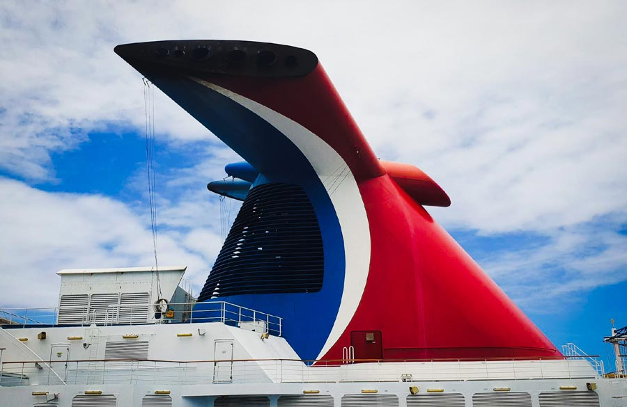 Carnival Cruise Ship Funnel