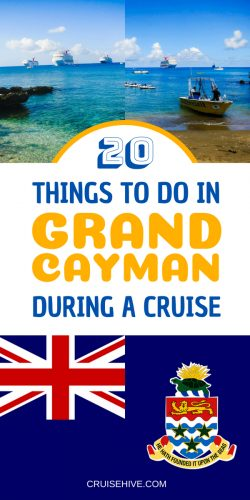 When on a western Caribbean cruise vacation your ship will likely call in the Cayman Islands so we've got all of these things to do in Grand Cayman.