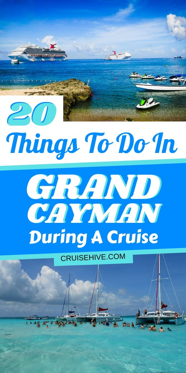 If you're going on a cruise ship in the Caribbean then the Cayman Islands might just be on your itinerary. Here are travel tips and 20 things to do in Grand Cayman also including George Town.