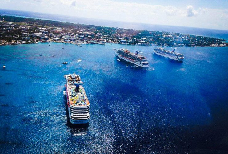 Grand Cayman Cruise Ships Tendering