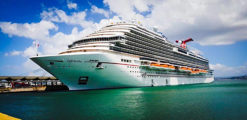 Carnival Horizon in Port