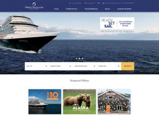 New Holland America Website