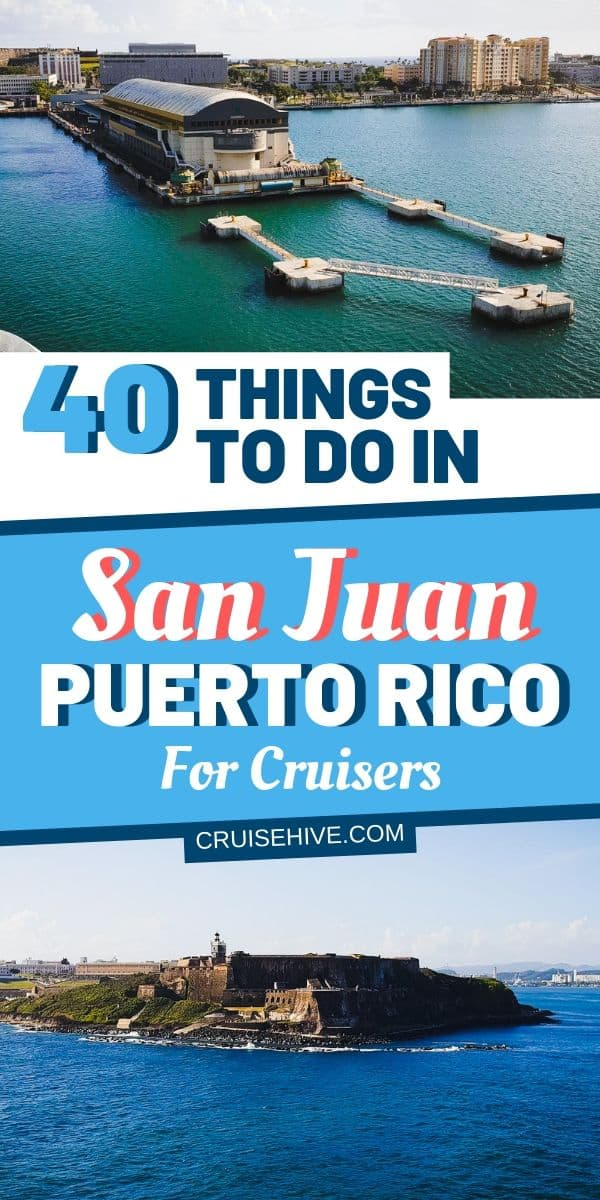 Take a look at all these things to do in San Juan, Puerto Rico for cruise visitors to the Caribbean island. We've even gone beyond the city with beaches and excursions.