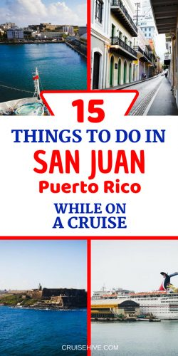 We've put together all these things to in San Juan, Puerto Rico while on your cruise vacation in the Caribbean.