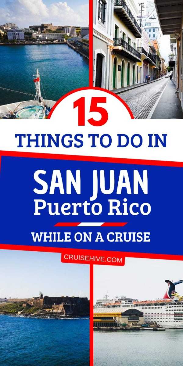 Travel and cruise tips on things to do in San Juan, Puerto Rico while the ship is in port. Covering shore excursions, beaches, and prices for the popular Eastern Caribbean destination.