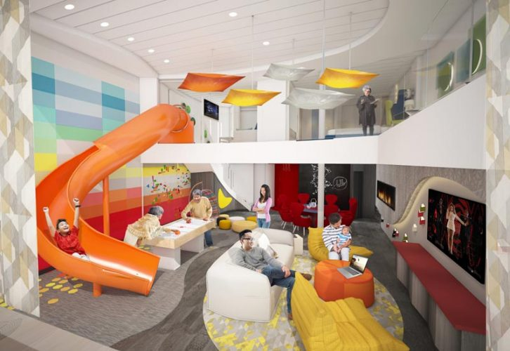 Spectrum of the Seas, Ultimate Family Suite