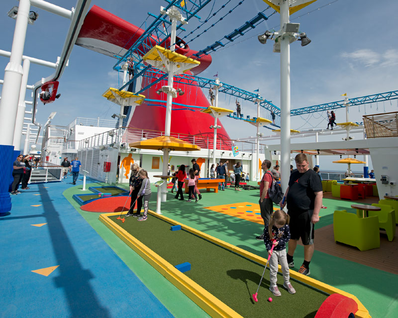 Carnival Horizon Sports Square