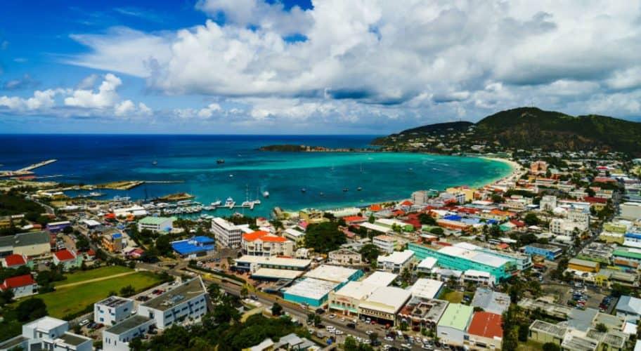St. Maarten in the Caribbean
