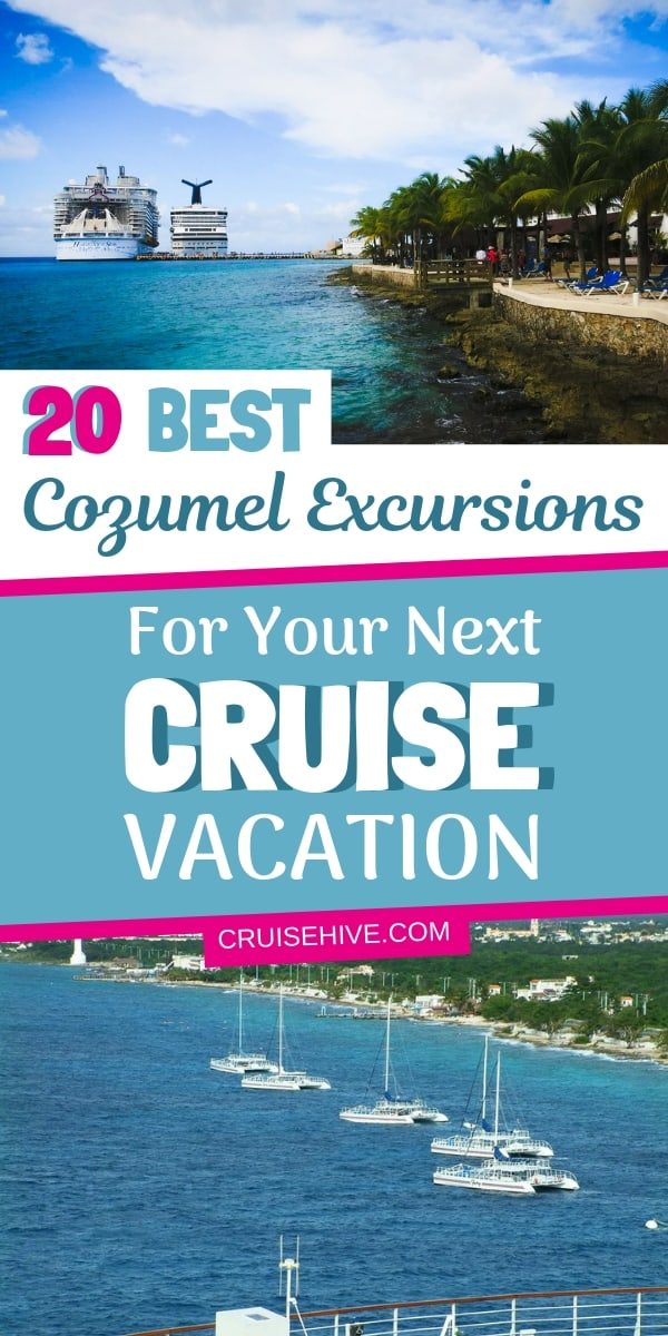 Find out the best shore excursions for your next cruise vacation to Cozumel, Mexico. Find out all the things to do on the Mexican island along with travel tips.