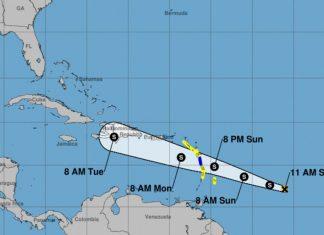 Tropical Storm Beryl