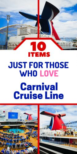 If you're a loyal Carnival cruise guest then check these items. Not just for your cruise vacation but also for fun!