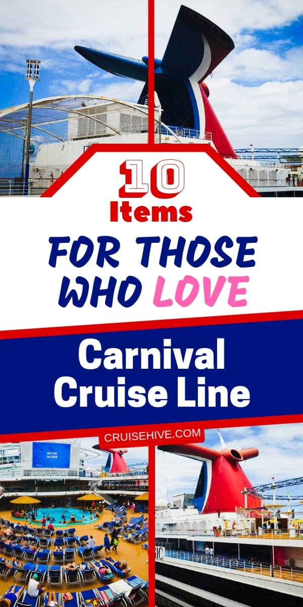 Items worth including on your cruise packing list for an upcoming Carnival Cruise vacation. Also, items perfect for home if you like the cruise line.