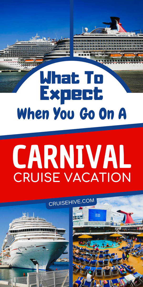Carnival cruise tips on what to expect when on a Carnival cruise vacation. Covering topics like embarkation, cruise packages, and dining.
