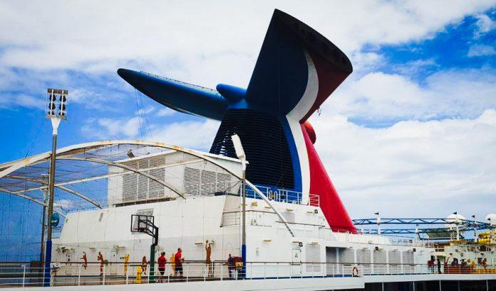 Carnival Cruise Funnel