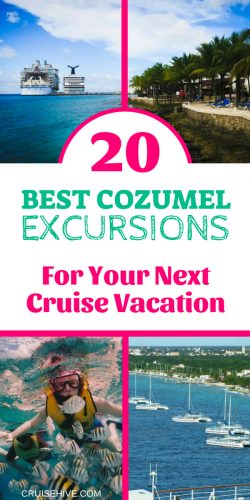 If you have a cruise vacation or even traveling to this Caribbean destination in Mexico then here are the best Cozumel Excursions.