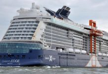 Celebrity Edge Sea Trials
