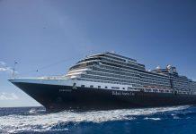 Eurodam Cruise Ship at Sea