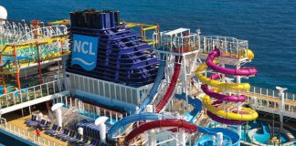 Norwegian Cruise Line Funnel