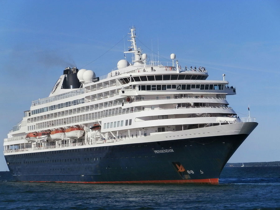 Prinsendam Cruise Ship