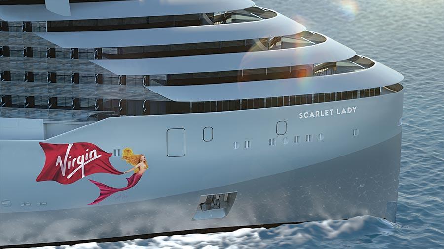 Scarlet Lady Virgin Cruise Ship