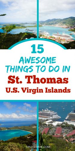 Read all about one of the most popular cruise travel destination in the Caribbean. Here are things to do in St. Thomas, U.S. Virgin Islands.