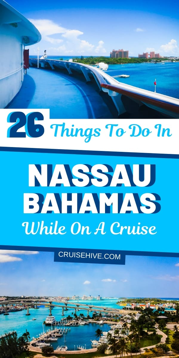Travel tips on things to do in Nassau, Bahamas catered towards those on a cruise vacation. Covering the best shore excursions and activities such as the straw market, beach, Atlantis, Queen's Staircase and lot's more!