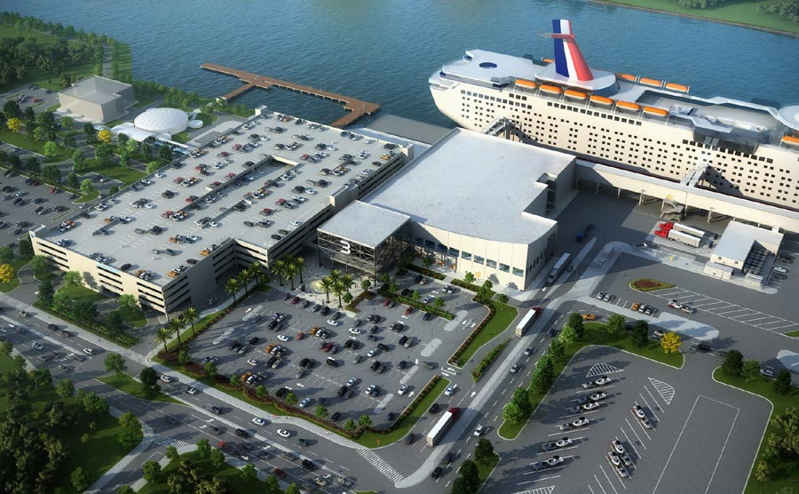 New Port Canaveral Terminal 3
