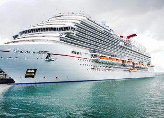 Carnival Horizon Docked in San Juan
