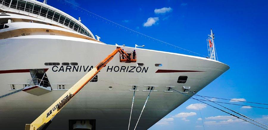Carnival Horizon Bow